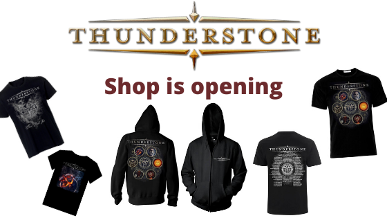Thunderstone shop is opening